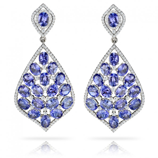 earrings ajanta enlarged view jewelers tanzanite